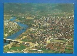ESPAGNE - ORENSE - VISTA AÉREA - VUE AÉRIENNE -  1977 - VERSO - Orense
