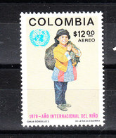 Colombia  - 1979. Costume Indios Colombiano. Colombian Indios Costume.MNH - Costumi