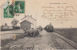 E42 - SAINT-BRANCHS - LA GARE - Autres Communes
