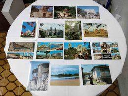 VINTAGE POSTCARD LOT X 27 CYPRUS - DIFFERENT PLACES VIEWS UNUSED - Chypre
