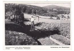 AK Valtenberg Mit Wesennitztal, Gel. 1943 - Allemagne
