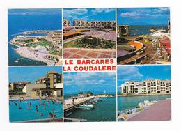 66 Le Barcarès En 6 Vues La Coudalière Piscine Match De Water Polo En 1991 édit Apa Poux - Port Barcares