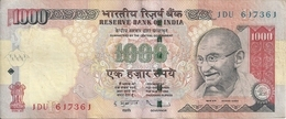 INDE 1000 RUPEES VF+ - India