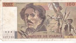 Billet De 100 Francs DELACROIX / 1993 / B 208 - 100 F 1978-1995 ''Delacroix''