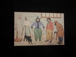"""Arts. Série """" Les Peintres Farceurs  """" N° 1 . Avant 1903. Voir 2 Scans . - Arts"""