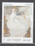 Año 2016 Nº5033 Serie Artistica Jan Toorop - Ungebraucht
