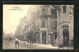 CPA Belfort, Faubourg De France - Belfort - Ville