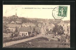 CPA Beaucourt, Rue De Saint-Dizier - Beaucourt