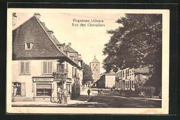 CPA Haguenau, Rue Des Chevaliers - Haguenau