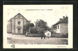 CPA Longevelle, L`Eglise, Partie Avec L'Église - Non Classés