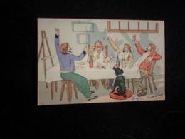 """Arts. Série """" Les Peintres Farceurs  """" N° 6 . Avant 1903. Voir 2 Scans. - Arts"""