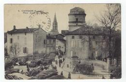 CAUSSADE - Marché Au Bois - Place Léon De Maleville - Caussade