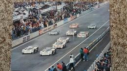 CPSM LE MANS CIRCUIT DES 24 HEURES LE DEPART LANCE PHOTO J LEMEUNIER ED JIPE - Le Mans