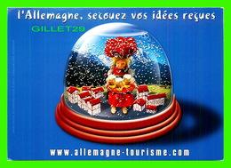 PUBLICITÉ - ADVERTISING - L'ALLEMAGNE, SECOUEZ VOS IDÉES REÇUES - - Publicité