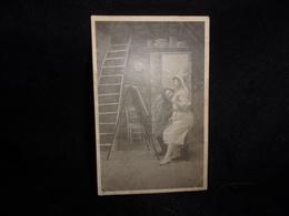 """Arts. Série """" Le Peintre Et Son Modèle """" Avant 1903. Voir 2 Scans. - Arts"""