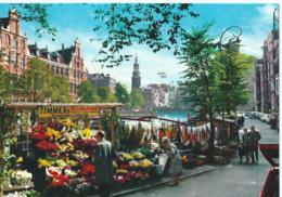 Amsterdam - Bloemenmarkt Met Munttoren - Amsterdam
