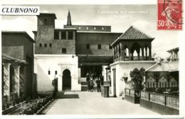 CPA - PARIS - EXPO INT. 1937 -  FRANCE D'OUTRE-MER - MAROC (CARTE GLACEE) - Expositions