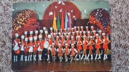 CPSM MAJORETTES D AIX LES BAINS SAVOIE CHAMPION 1973 A 1976 PHOTO ARNOLD 2 EME CHOIX - Musique Et Musiciens