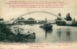 27 - SAINT-PIERRE-de-VAUVRAY - Nouveau Pont En Ciment Armé. Long 131m70, Largeur 8m, Flèche 30m - France