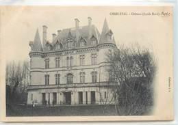 CPA 13 Bouches-du-Rhône Charleval Chateau Bosc Façade Nord - France
