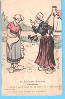 Humour-Gauloiseries Françaises, Bien Répondu-Illustrateur D'après Alfres Jarry (A.J)- 1911- - Autres Illustrateurs