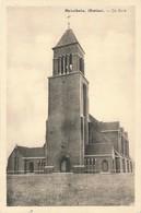 CPA - Belgique -  Meirelbeke - De Kerk - Merelbeke