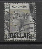 CHINA : HONG KONG - YVERT N°61 OBLITERE - COTE = 35 EUR - Hong Kong (...-1997)