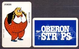 Belgie - Speelkaarten - ** 1 Joker - Billie Turf - Oberon Strips - Kartenspiele (traditionell)