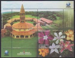 Paraguay (2018) - Block -  /   Flowers - Fleurs - Flora  - Flores - Orchid - Orquidea - Orchidee