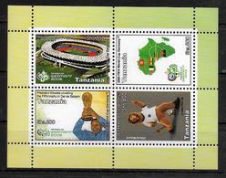 TANZANIE  BF 538   * *  ( Cote 7e )  Cup  2006  Football  Fussball   Soccer Stade Mascotte Coupe - Coupe Du Monde
