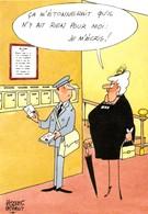 FAIZANT  - La Poste Par ....Pas Courante   CPM - Faizant