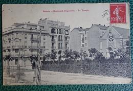 Cpa Photo - 34 - Béziers - Boulevard Duguesclin - Le Temple - Beziers