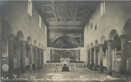 ROMA - CHIESA DI S. MARIA IN DOMNICA  ~ AN OLD POSTCARD #91546 - Kirchen