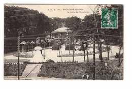 62 Boulogne Sur Mer Le Jardin Des Tintelleries Cpa Cachet 1911 - Boulogne Sur Mer