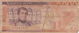MEXIQUE 5000 PESOS 1987 - Messico
