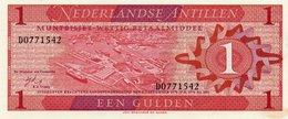 NETHERLANDS= 1970   1  GULDEN    P-20          UNC - Antille Olandesi (...-1986)