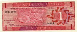 NETHERLANDS= 1970   1  GULDEN    P-20          UNC - Antilles Néerlandaises (...-1986)