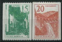 1959 Jugoslavia, Industria E Costruzioni Da Bobine , Serie Completa Nuova (**) - FDC