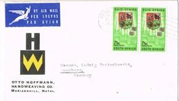 31685. Carta Aerea PINETOWN (Natal) South Africa 1961 - África Del Sur (1961-...)