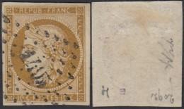 FRANCE Yv 1 TRES BIEN MARGE OBLITERE  (DD) DC-2242 - 1849-1850 Ceres