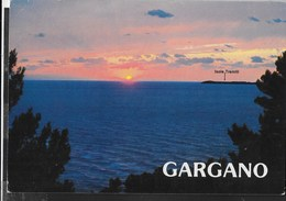 PUGLIA - TRAMONTO SUL GARGANO - VIAGGIATA 1990 - Italia