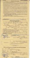 ARMY RECRUITMENT ORDER, 3RD REICH, WW2, CLOSED POSTCARD, 1939, GERMANY - Briefe U. Dokumente