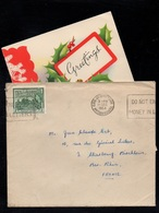 BRITISH GUIANA - GEORGETOWN / 1954 LETTRE POUR LA FRANCE (ref LE3281) - Brits-Guiana (...-1966)
