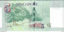SINGAPOUR 5 DOLLARS / TTBE - Singapour