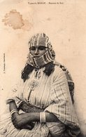 TYPES DU MAROC Femme Du Sud - Maroc (1956-...)