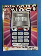 BIGLIETTO CONCORSI A PREMI TELEFONA E VINCI USATO - Biglietti Della Lotteria