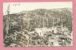 68 - HARTMANSWEILERKOPF - VIEIL ARMAND - Carte Photo - Champ De Bataille - Guerre 14/18 - Frankrijk