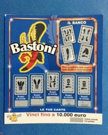 BIGLIETTO CONCORSI A PREMI BASTONI USATO - Biglietti Della Lotteria