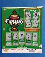 BIGLIETTO CONCORSI A PREMI COPPE USATO - Biglietti Della Lotteria