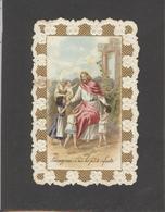 Themes Div-ref AA907- Images Religieuses - Image Religieuse - Image Pieuse Dentelée -/chocolat Hermitage -tain -drome - Images Religieuses
